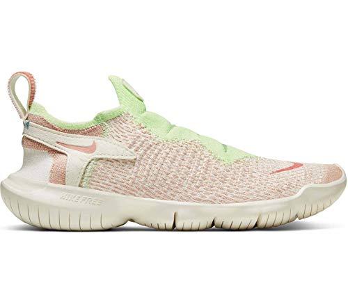Nike WMNS Free Rn Flyknit 3.0 2020 - sail/pink Quartz-Pale Ivory-Barely, Größe:7