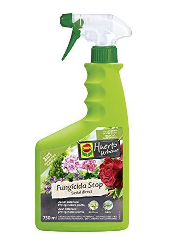 COMPO Fungicida Stop Savial direct, Pulverizador,2 en 1 Preventivo y Curativo, Para plantas ornamentales, arbustos y árboles, 750 ml, 2197902011