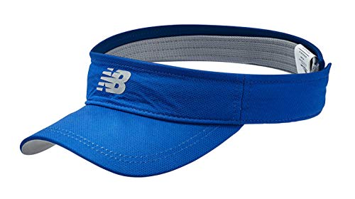 New Balance Men's and Women's Athletic Performance Sport Visor Headwear, One Size Fits Most Moisture Wicking Sports Cap