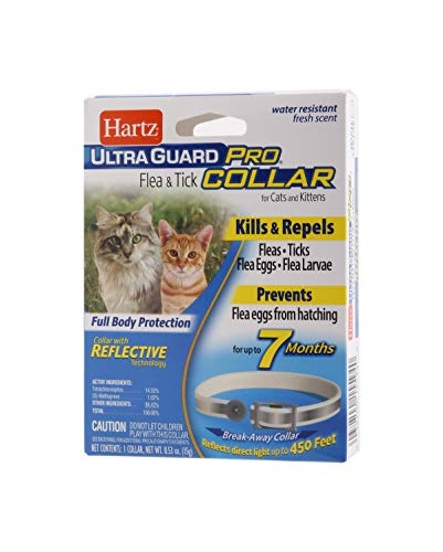 Hartz UltraGuard Pro Flea & Tick Collar for Cats and Kittens, 7 Month Flea and...