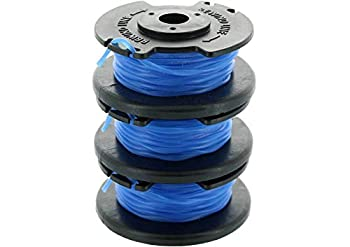 Ryobi One+ AC14RL3A .065 Line and Spool Replacement for Ryobi 18v 24v and 40v Cordless Trimmers  3 Pack