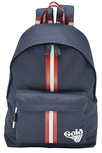 Zaino GOLA scuola 33x42 CUC115 HARLOW Retro Stripe Navy/Red/White
