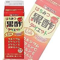 タマノイ はちみつ黒酢ダイエット 濃縮タイプ500ml紙パック×12本入×(2ケース)