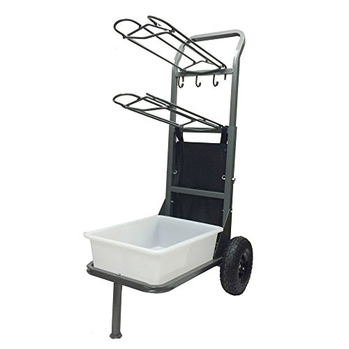 High Country Plastics Two Wheel Saddle Rack Cart