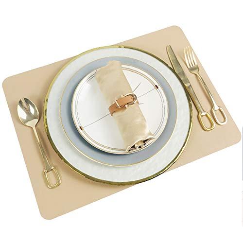 Restaurante Platos De Comida, Incluye 1*Mantel Individual, Placas De 1*12 Pulgadas, Placas De 1*10 Pulgadas, Placas De 1*8 Pulgadas, 2*Servilleta, 1*Tenedor 1*Cuchillo 1*Cuchara ( Size : Set-9Pcs )