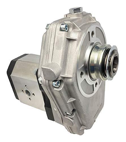 Zapfwellengetriebe Hohlwelle mit Hydraulikpumpe (Zahnradpumpe) BG 3, Schluckvolumen wählbar Größe 22 ccm