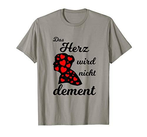 Das Herz wird nicht dement - Pflege Senioren T-Shirt