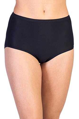 ExOfficio Women's Give-N-Go Full Cut Brief, Medium, Black