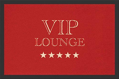 V.I.P. Lounge Fussmatte Fußabtreter VIP Lounge Türmatte Fußmatte Roter Tepich Red Carpet