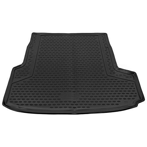 Novline MAT278 op maat gemaakte pasvorm zwart rubberen laars voering mat