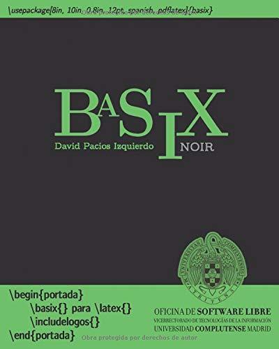 BaSiX: LaTeX básico con ejercicios - noir
