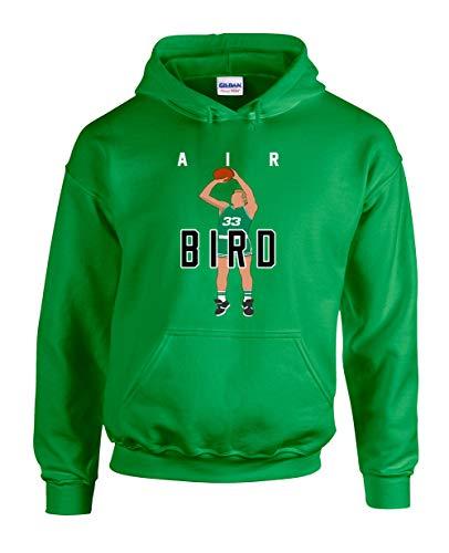 Green Boston Bird Air Pic Hooded Sweatshirt Youth Medium