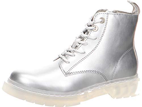 TAMARIS Damen 1-1-25206-34 941 Stiefelette, Silver, 40 M EU