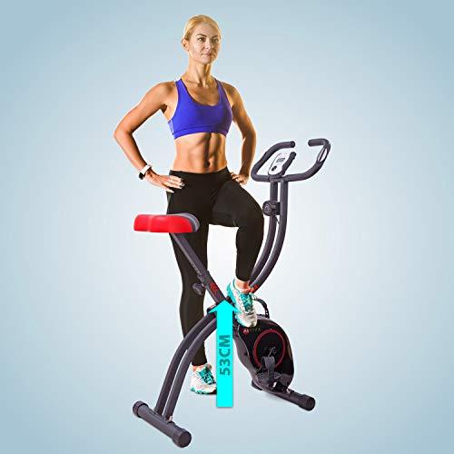 Ergometer Heimtrainer X-Bike: Klappbar & günstig Bild 4*