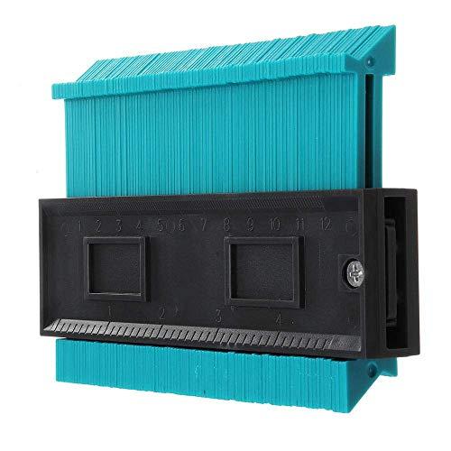 Serria® 4-Zoll- / 120-Mm-Kunststoff-Konturkopier-Duplikator-Rundrahmen-Profilmessgerät zum Markieren von Profilen und Kanten, Holzbearbeitung, Karosserie, Rahmung, Rohren, Zimmerei