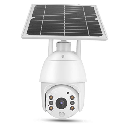 PIR Solar CCTV IP66 Cámara Impermeable Visión Nocturna a Todo Color 4G para monitoreo de(North American Frequency Band)