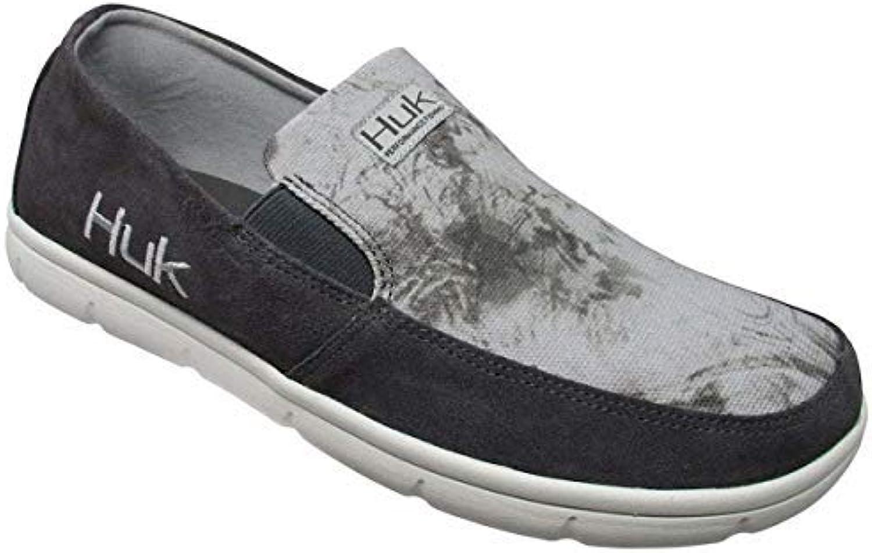Huk Men's Leather Brewster Slip-On shoes H8012300