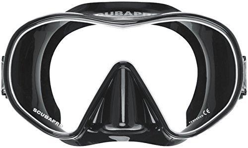 SCUBAPRO Solo Scuba Snorkeling Dive Mask, BK