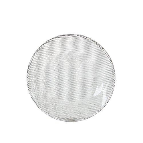 Cristal Plato tenley–Plato decorativo (con costura–Tablero de cristal–Vela plato–Mesa Deko–Stand, 15 cm