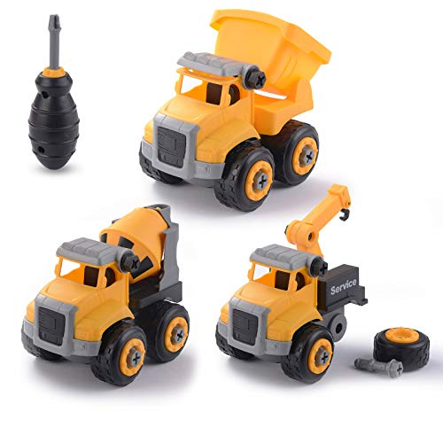 (50% OFF) Take Apart Truck Toy with Drill $7.50 – Coupon Code