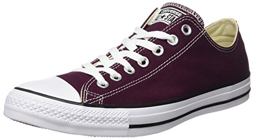 Converse Unisex-Erwachsene Chuck Taylor All Star Hohe Sneaker, Rot (Dark Sangria), 36 EU