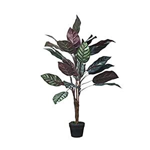 YANYAN Artificial Trees Nordic Artificial Feather Feather Bamboo Large Simulation Tree Home Floor Plant Potted Shop Window Display Durable Fake Trees (Size : 47 inches)