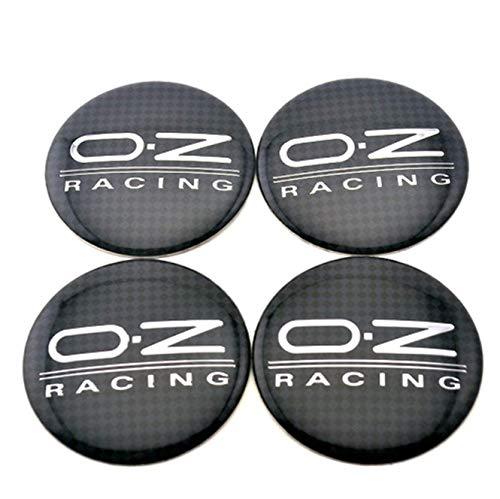 Dljyy Un Conjunto de 4X 56mm Cubierta del Cubo del Logotipo de la Cubierta del Logotipo de la Insignia Etiqueta engomada, for el patrón de OZ