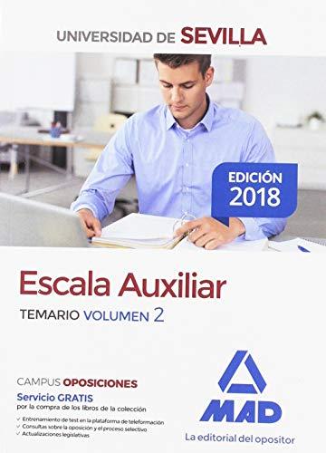 Escala Auxiliar de la Universidad de Sevilla. Temario volumen 2