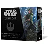 Fantasy Flight Games- Star Wars Legion: Comandos Rebeldes - Español, Multicolor...