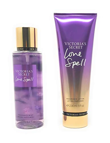 Set Victoria's Secret Love Spell Body Mist 250 ML + Crema 236 ML