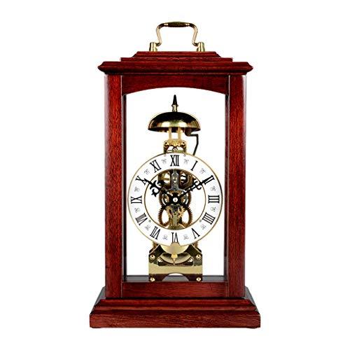 A-ZHP Sólido de Madera mecánica del Reloj Chino Salón Comedor con el Reloj Creativo Reloj Retro al Estilo Europeo Reloj Reloj de Decoración