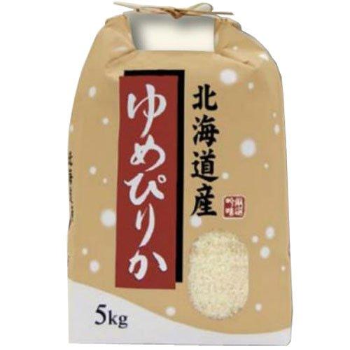 令和 元年産 北海道産 ゆめぴりか 5kg (7分づき(精米後約4.65kg))