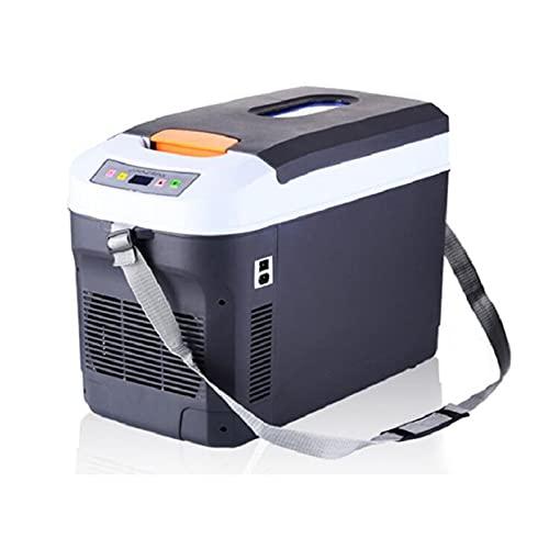Bewinch Mini Refrigerador De 22 litros, Refrigerador De Coche De Doble Núcleo, Refrigerador De Doble Uso para El Hogar, 12V24V220V, Temperatura Constante, Calefacción Y Refrigeración