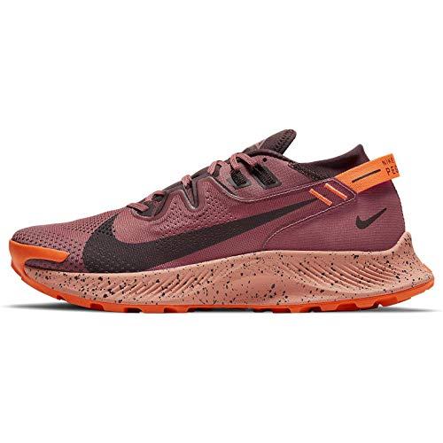 Nike Pegasus 2, Trail Running Shoe Hombre, Canyon Rust/Mahogany-Smokey Mauve-Hyper Crimson-Apricot Agate, 44.5 EU