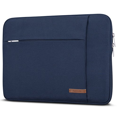 CASEZA MacBook PRO 13 Pollici Custodia/MacBook Air (2018) Sleeve Blu London Borsa per Portatile MacBook Air (2018)/PRO 13 e Altri Modelli da 11-12' - Custodia Resistente all'Acqua & Due Tasche