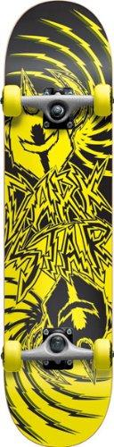 Darkstar Komplett Skateboard FP Twisted Yellow, Multi Color, 11314044