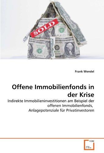 Offene Immobilienfonds in der Krise: Indirekte Immobilieninvestitionen am Beispiel der offenen Immobilienfonds, Anlagepotenziale für Privatinvestoren