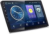 Lour Android 8.1 Voiture de Navigation GPS Radio TV, 9 « la Radio complète Voiture Moniteur écran Tactile pour Tous Les modèles de Voiture, avec Commande au Volant Bluetooth Stereo Link M.