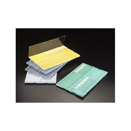 Simport Scientific M752-20WOP Microscope Slide Folder, Opaque Door, White Base, 11mm Height, 192mm Width, 295mm Length