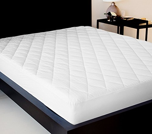 Lantrix Fitted Mattress Pad - Mattress Cover Stretches up to...