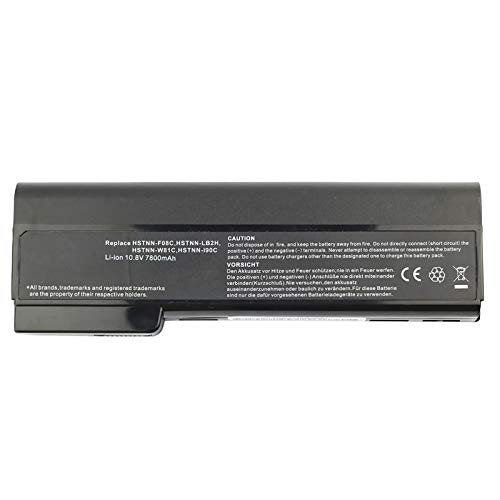 Bay Valley Parts 9-Cell 10.8V 7800mAh New Replacement Laptop Battery for HP Elitebook 8460p 8460w 8560p 8570p ProBook 6360b 6460b 6560b 6570b, fit cc06 cc06xl cc09 628666-001 628668-001 628670-001