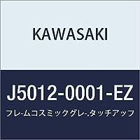 KAWASAKI (カワサキ) タッチアップペイント 【 容量:15ml 】 カラー:フレームコスミックグレー J5012-0001-EZ