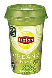 [冷蔵] 森永乳業 リプトン CREAMY抹茶ラテ 240ml