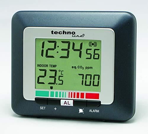 Technoline Luftgütemonitor WL 1005, Luftqualität inkl. Batterie