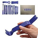 XBRN 12-Pack Trim Removal Tool, Car Panel Door Audio Trim Tool Kit, Auto Clip Fastener Remover Pry Tools Set