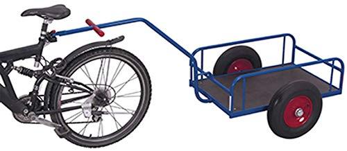 Fahrradanhänger ohne Bordwand Traglast (kg): 400 Ladefläche: 1130 x 535 mm RAL 5010 Enzianblau