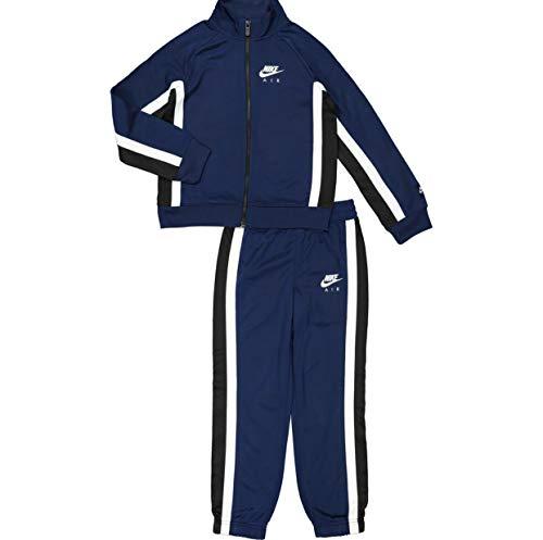 Nike 86F190-U9J Blue Void Chándal de dos piezas con pantalón y sudadera con cremallera Blue Void 6-7 Años