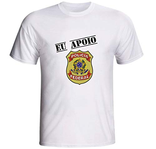 Camiseta Eu Apoio A Polícia Federal