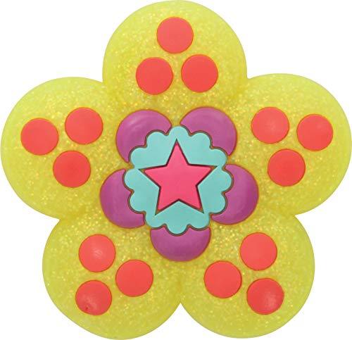 Crocs Garden Flower Glitters Shoe Decoration Charms, Multicolour (-), One Size
