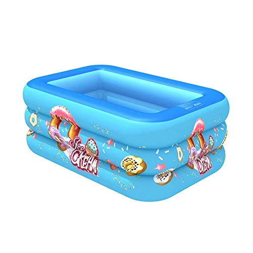 YANJ Swimming Pool for Kinder Kinder aufblasbarer Swimmingpool Planschbecken Sommer Familie Wasser Spiele Multi-Layer- (Color : A1)